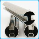 Stainless Steel Double Slotted Pipes
