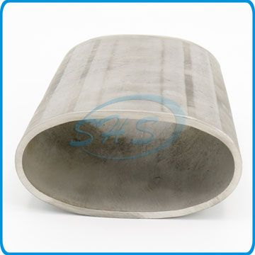 Stainless Steel Large Size Elliptical Oval Pipes