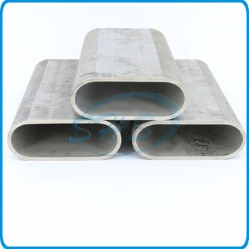 Stainless Steel Flat Sided Oval Pipes for Five-star Hotels