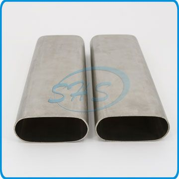 SUS 316L Stainless Steel Flat Sided Oval Tubes